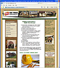 Building and Contracting Websites